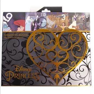 NWT Disney Princess 12 days of socks advent